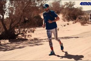 Jerzy Dudek na Saharze promuje 4Move