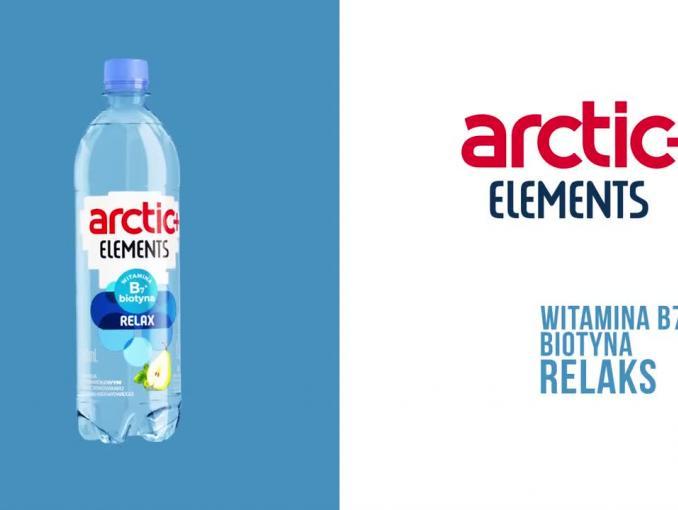 """To nie jest zwykła woda"""" - reklama wody Arctic+"""