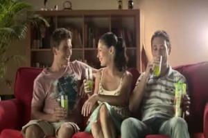 Owoce Świata od Tymbarku - reklama