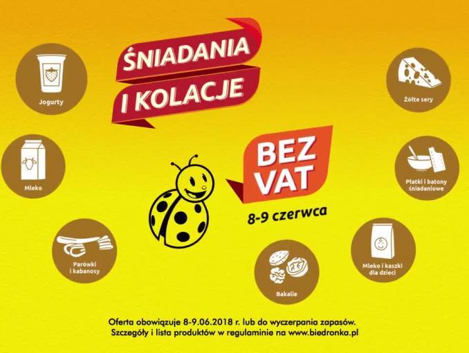 """Biedronka przed niedzielą bez handlu promuje """"piątek i sobotę bez VAT"""""""