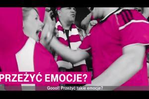 Huawei P20 lite w T-Mobile - reklama z celnym strzałem