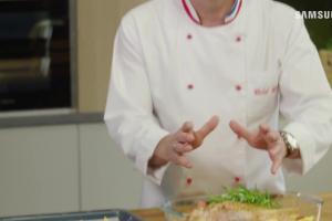 Michel Moran wypieka w piekarniku Samsunga kaczkę i ptysie