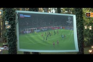 Liga Mistrzów w Cyfrowym Polsacie reklamowana dla wszystkich kibiców