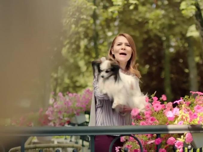 Małgorzata Pieńkowska reklamuje tabletki uspokajające Positivum