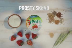"""""""Prawdziwa moc pełnych ziaren zbóż"""" w reklamie Bakomy 7 Zbóż"""