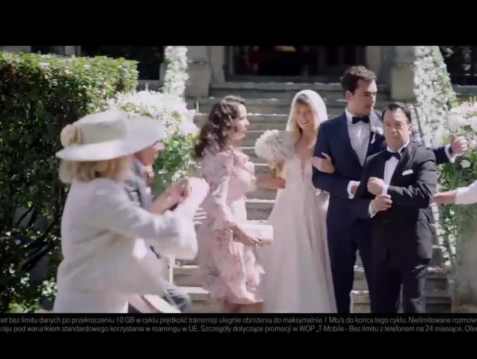 Dorota Wellman reklamuje Rodzinę bez Limitu w T-Mobile