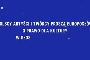 """Daria Zawiałow w kampanii """"Daj prawo kulturze"""""""