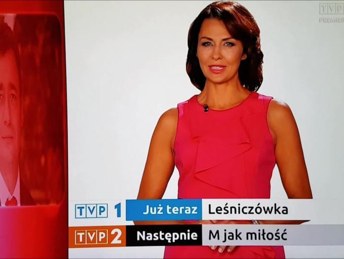 """Anna Popek po """"Barwach Szczęścia"""" zapowiada seriale w TVP1 i TVP2"""