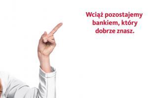 Santander Consumer Bank zmienia logo z czerwonego na białe
