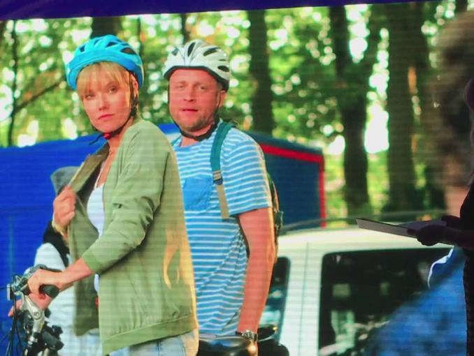 """""""Całe szczęście"""" - komedia romantyczna TVN (materiał z planu)"""