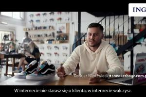 Płatności imoje w ING Banku Śląskim - reklama