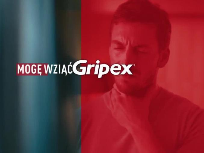 """Mogę"" w reklamie Gripex Max"
