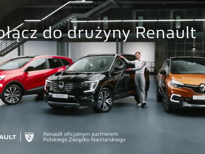 Kamil Stoch, Piotr Żyła, Dawid Kubacki i Maciej Kot w spocie Renault