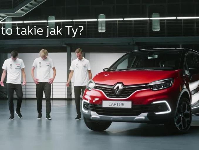 Stoch, Żyła, Kubacki i Kot reklamują personalizację w autach Renault