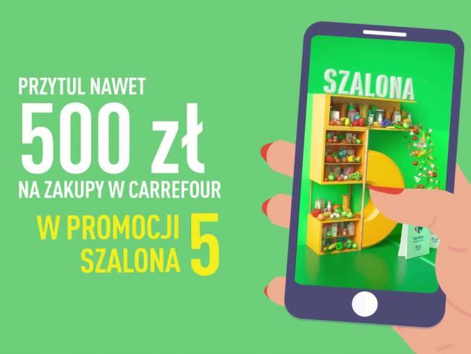 """Akcja """"Szalona 5"""" powraca do Carrefour"""
