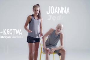 """Joanna Jędrzejczyk jako """"Pogromczyni Złośliwości"""""""
