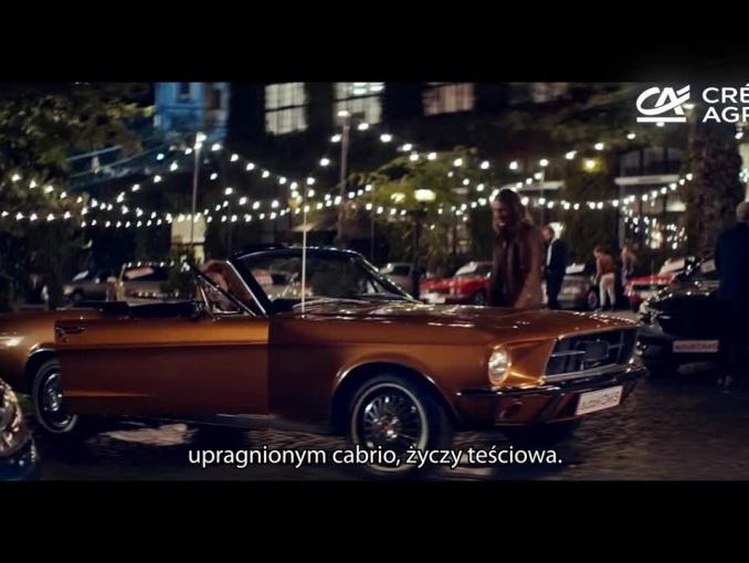 Dawid Podsiadło muzyczną dedykacją w spocie pożyczki gotówkowej w Credit Agricole Bank Polska