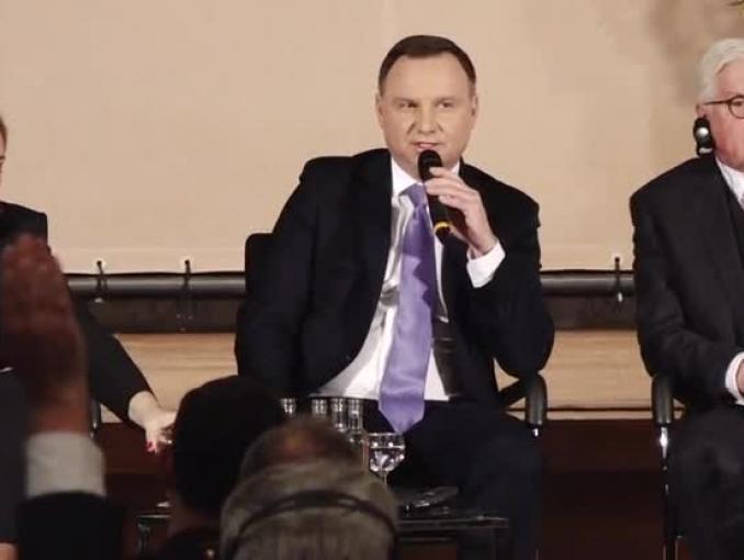 Andrzej Duda: media w Polsce są wolne, nie mam na nie wpływu
