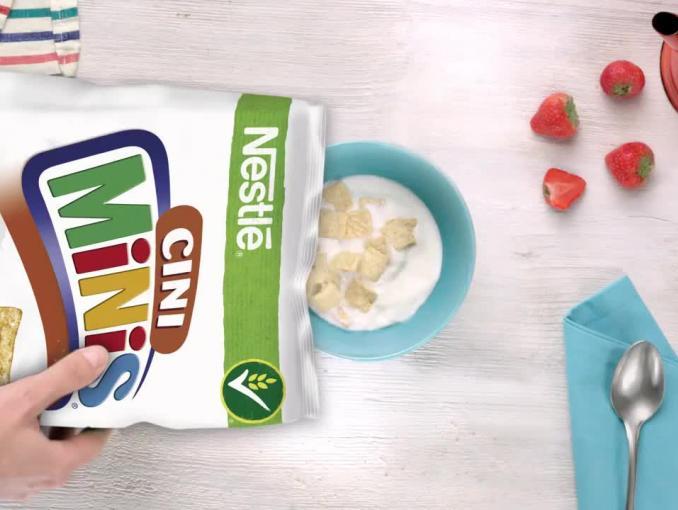 """""""Loteria pełna złotych"""" promuje płatki Nestlé"""
