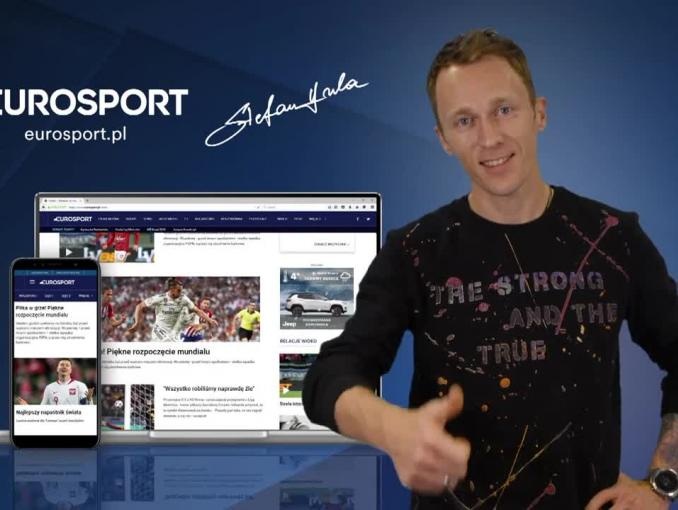 Stefan Hula reklamuje Eurosport.pl