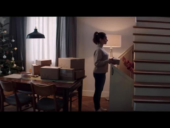 Bożonarodzeniowa reklama Allegro Smart!