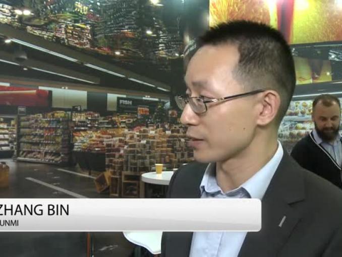 Płatność twarzą w KFC w Chinach