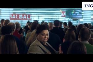 Mare Konrad i szał zakupów w reklamie ING Banku Śląksiego