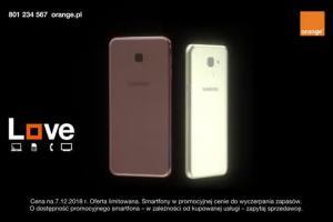 Promocja w Orange Love ze smartfonami Samsung Galaxy