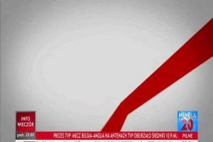 """Poprzednia czołówka """"Minęła 20"""" w TVP Info"""