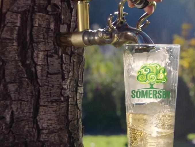 Lama w reklamie Somersby
