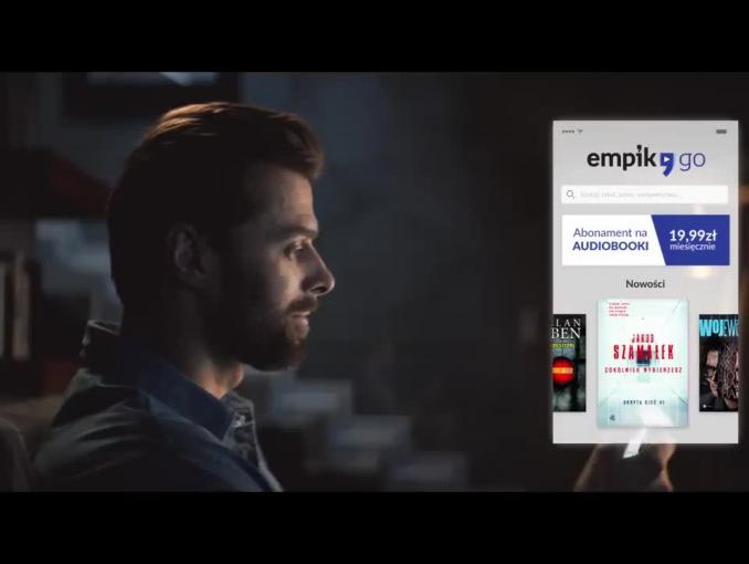 """""""Audiobooki bez limitu"""" w kampanii EmpikGO"""
