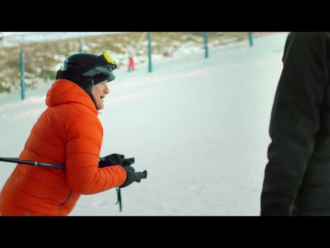 Robert Górski i Mikołaj Cieślak na nartach reklamują Orange na Kartę