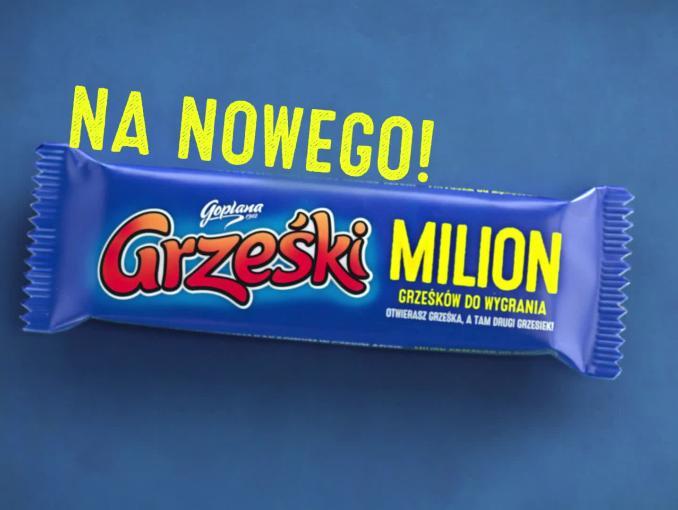 Loteria batoników Grześki