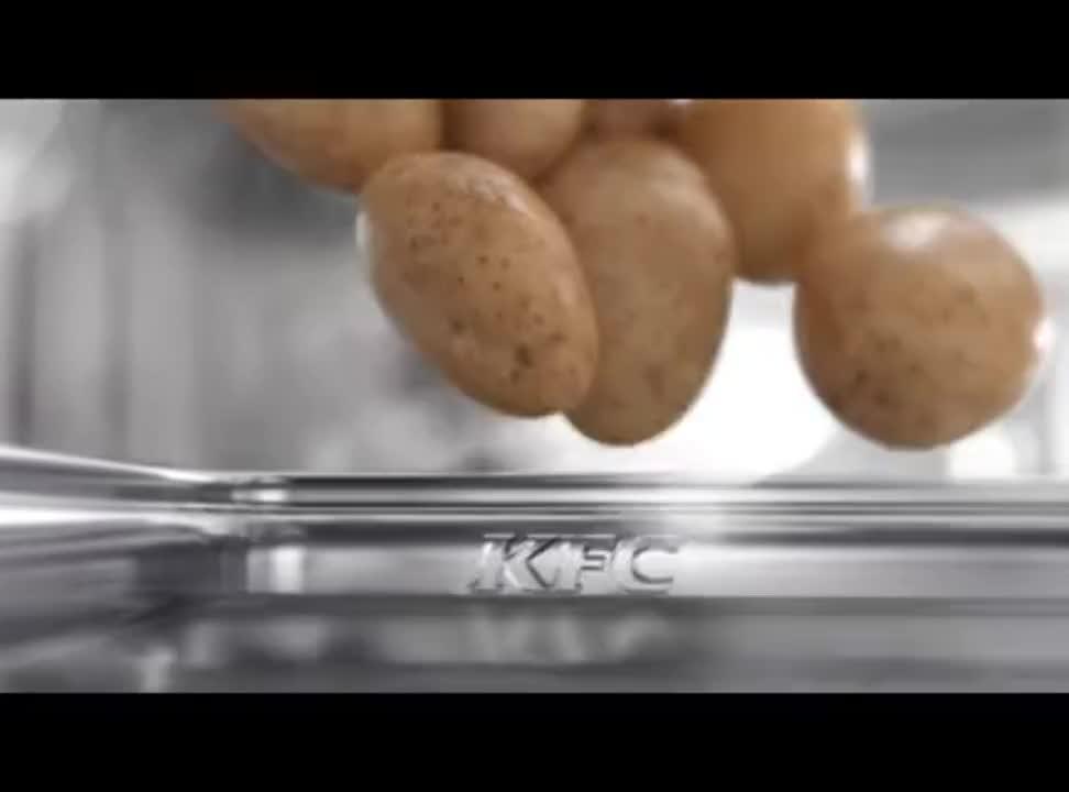 Nowe Frytki w KFC - reklama
