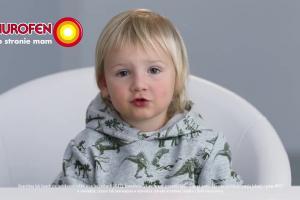 """Nurofen dla dzieci reklamowany """"po stronie mam"""""""