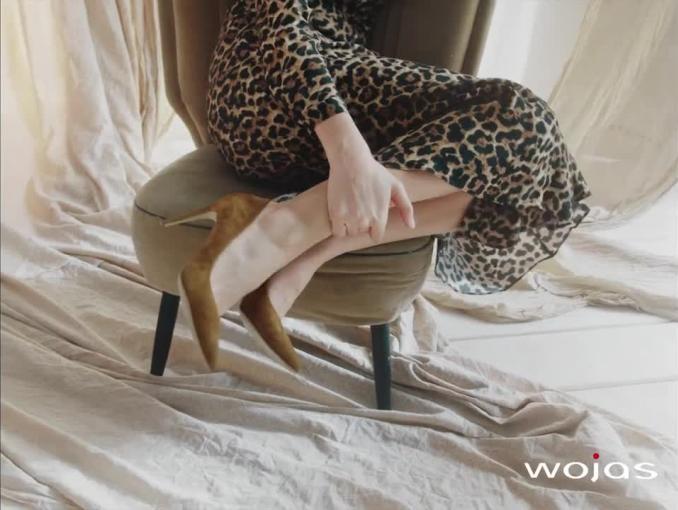 Zuzanna Bijoch w wiosennym spocie butów Wojas