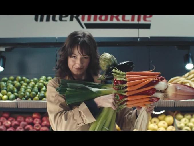 Film akcji reklamuje Intermarche