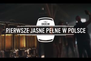 """Okocim """"Pierwsze Jasne Pełne w Polsce"""""""
