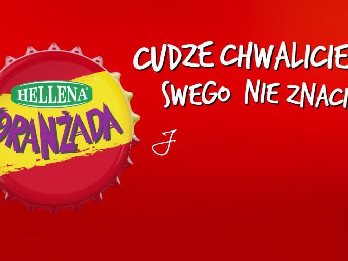 """""""Cudze chwalicie, swego nie znacie"""" - spot Oranżady Hellena z Czesławem Mozilem"""