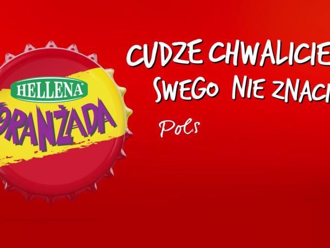 Michał Szpak w reklamie Oranżady Hellena