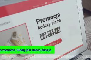 Najlepiej robić przelewy samemu w reklamie mBanku