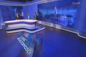 """""""Gość Wiadomości"""" - nowa czołówka i studio"""