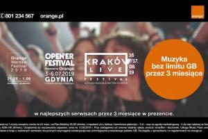 Letnie festiwale i muzyka bez limitu GB w spocie Orange