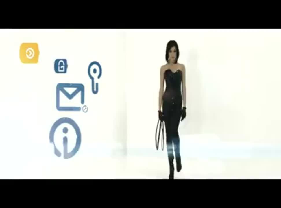 Inteligo - reklama z biczem