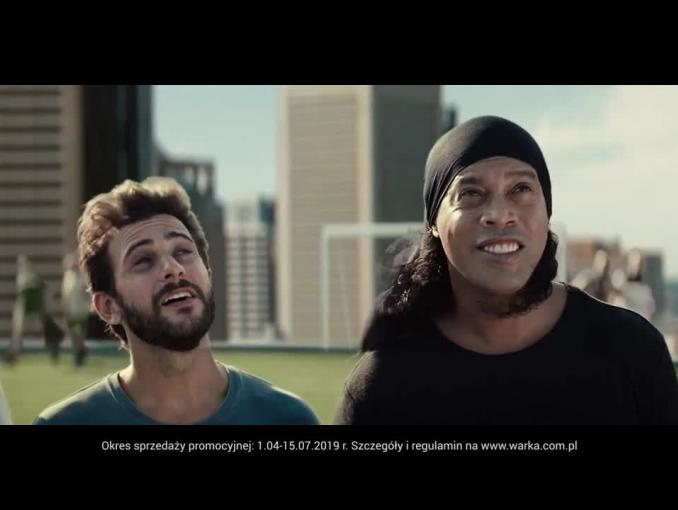 """Planeta Warka"" z Ronaldihno - reklama"
