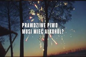 Piwo Łomża Pszeniczne 0,0% - reklama