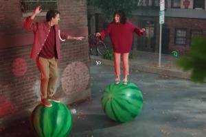 Tic Tac Gum o smaku arbuza - reklama