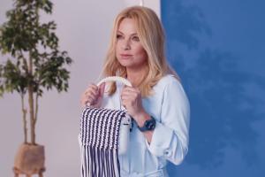 Katarzyna Bujakiewicz reklamuje O bag