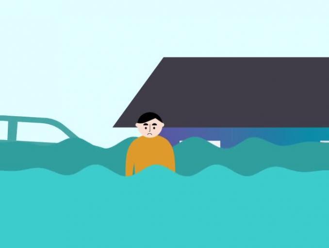 Nie zaklinaj pogody - powódź