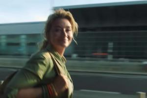 Martyna Wojciechowska w reklamie Lipton